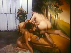 Hottest facial classic video with Birgit Zamulo and Marie-France Morel. Part 1 of 'As it Really Was', begins in Vienna around the turn of the last century. A beautiful little madam, perched on a pulsating penis through split-crotch draws, introduces herself as Janine. She tells how, as a young girl, she and her guy got aroused watching the extramarital erotic encounters of their mom and stepfather and how they relieved each other orally. Janine becomes a voyeur and resolves to loose her virginity. She interrupts Mr Hutchin's encounter with the neighbour Mrs Peabody and wraps her sweet, virgin face around his throbbing purple shaft just before her very first fuck. From that moment she's insatiable, enjoying the blooming of her young body and the impressive virility of the lodger Mr Baker, whom she drains. A priest hears her sins and purifies her with his holy tongue. Absolving her with his holy dick, he causes the wicked girl to call
