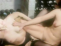 Exotic facial retro movie with Cyril Val and Celine Gallone. 100% Hot Girls!!!