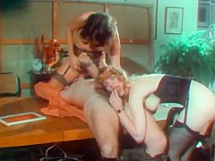 Crazy lesbian retro scene with Rocky Rhodes and China Leigh. Dorothy LeMay lands a job at the agency, working for a very mysterious mogul - Paul Thomas, in this very hilarious and sexy spoof of the