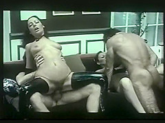 Black Anal. Lying naked on a couch in a sumptuous living room, Iberian looking Nadia masturbates and has her sexual fantasies come to life: lesbian scene with a black girl sucking the dicks and taking sperm of Allan and Aveline trio sex with Petix and Stanislas, who also have sex together tied on a chair, she has to watch Allan and Aveline have sex with a woman having dirty sex with black dwarf Bastareaud blindfolded sucking and asslicking of 6 males orgy