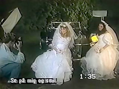 Double Bridal Pohotshoot. Lucky guy alone with two bride models. It's go toend in sex... and it does. Again, subtitles are rubbish. Enjoy