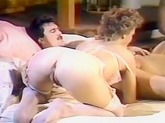 Dirty Laundry. This steamy sex video from 1988 features one of the most cliched plots in all of hardcore: a bunch of guys sit around a poker table and entertain one another with tales about their sex lives. And needless to say, we then get to see their stories in vivid detail. Okay, so they probably could have come up with a better story; they sure could not have done much better in lining up some stunning and sexually stunning women. Megan Leigh gets top billing, and she earns it with some sensual work that's sure to have you coming back for more. And rarely seen Denise Connors shines when she is on screen as well. But once again, it is super-sexy Keisha who steals the show here, throwing her prodigious breasts into the fiery fray with the no-holds-barred attitude that made her one of the late 80's/early 90's top starlets. Keisha's naturally voluptuous figure gets tossed every which way in a supremely erotic sequence that's sure to rev your engines. A nice, straight-forward sex video that doesn't skimp on the raw passion.