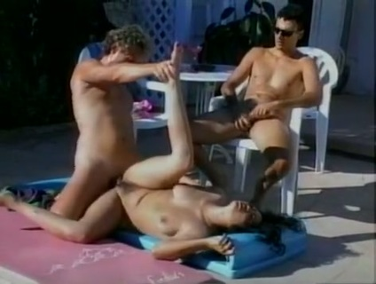 Outcall Outlaw. Have pager, will travel. They come to you. In more ways than one. These horny cock craving whores want to fuck! Watch a hot brunette get her ass rocked while she swallows hard cock in the pool. This flick has variety, with big-busted black sluts who need two cocks at once.