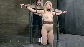 Young Blonde Tracey Sweet Spanked and Flogged in Bondage. Watch free Straight, Fetish, BDSM, Blonde, Spanking porn video on Txxx.com.  Video duration: :