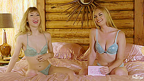 Ivy Wolfe & Bailey Rayne in TOTM Interview - Ivy Wolfe - TwistysNetwork. Join Twistys Treat of the Month Ivy Wolfe in this exclusive behind the scenes interview where she discusses everything from her spiritual upbringing to her favorite foods. Ivy goes into detail about which historical figure she'd most like to sleep with, her favorite travel locations, and what she looks for in a sexual partner. If you've ever wanted to get closer to beautiful, blonde babe, Ivy Wolfe, you can't miss this interview!