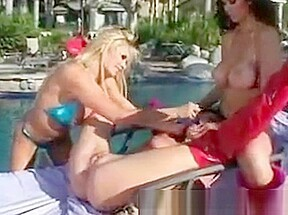 Naughty babes at the poolside - Tera Patrick. Watch free Straight, Lesbian, Threesome, Hardcore, Toys, Pornstar porn video on Txxx.com.  Video duration: :