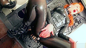 Red lubes up her latex catsuit and rubs her juicy wet pussy. Watch free Big Tits, MILF, Red Head, Straight, Masturbation porn video on Txxx.com. Big Tits XXX - Huge Boobs videos - Porn big tite Video duration: :