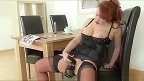 British Mature Milf Licks And Fucks Shoe. Watch free Straight, Toys, Mature, Masturbation, Stockings, Fetish porn video on Txxx.com.  Video duration: :
