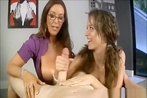 Malena Morgan and Rachel Steele with a guy on bedroom. Watch free Blowjob, Straight, Handjob porn video on Txxx.com. Suck that dick! Oral sex vids - Free Oral sex video Video duration: :