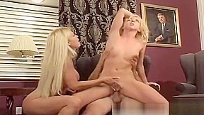 Blondes licking cum from cock Kelly Wells, Brooke Hunter. Watch free Straight, Hardcore, Blonde porn video on Txxx.com.  Video duration: :