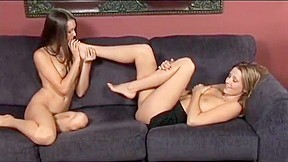 Carli Banks & Erica Ellyson foot worship. Watch free Straight, Lesbian, Foot Fetish porn video on Txxx.com.  Video duration: :