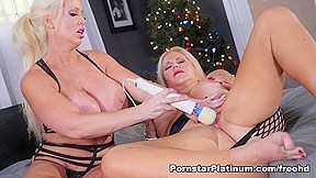 Alura Jenson in Xmas Pussy Present - PornstarPlatinum. Hey boys! I think you guys and I have something in common. For Christmas, we both want a piece of Karen Fisher's hot cunt. The only thing is I know I'll be getting some of her tasty box. But don't worry! You won't miss any of the hot action while I chow down on Karen's sweet bush. And of course, since it is the season of giving Karen will be giving me a seriously hot tongue bath between my legs. It's gonna be a Merry Christmas after all!