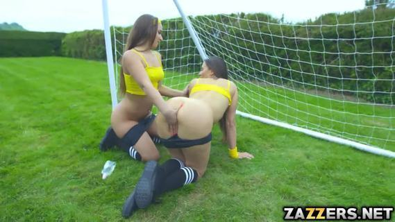 Watch Amirah and Mea in the field making some lesbian scene.Watch Amirah and Mea in the field making some lesbian scene, where they fingered each others big bouncy asses. Danny D came and helped them satisfy their needs. He alternately fucks these two horny player right there and then in the field