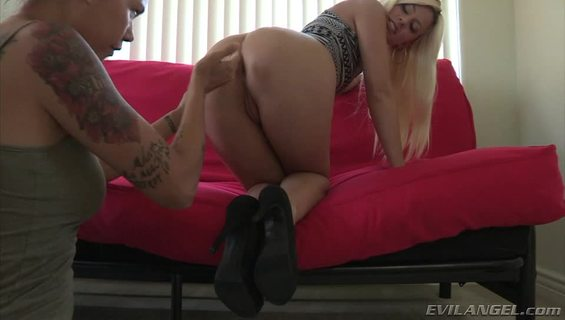 Lesbian Anal POV #03.Hot blonde gets fucked in the ass with toy by Dana Vespoli.