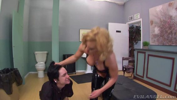 Femdom Ass Worship #13.A guy gets punished by a angry blonde and her sexy booty