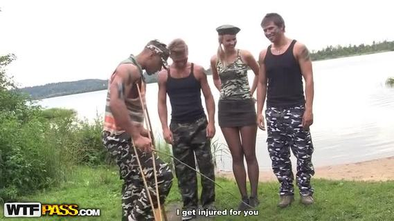Hot hard core fuck in the army.Very hard sex including asssex, real dp and even outdoor group sex for the hard fuck girls that also do deepthroat blowjob in a great number of real hardcore videos