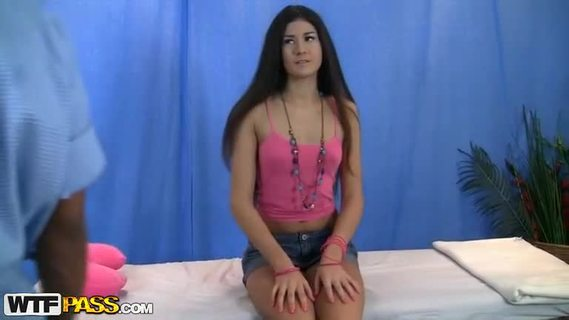 Cute teenage girl in porn hd massage.A very pretty girl with beautiful dark long hair is featured in this video. She is one of these girls who seem very shy when you see them the first time. They don't talk too much and have this scared look. But the more you learn about them, the more they surprise you! When it comes to erotic massage and hot sex, they show what they are capable of! Look at this hottie, how she forgets all the shame and moans loudly as she is getting fucked from behind! You never know what to expect...