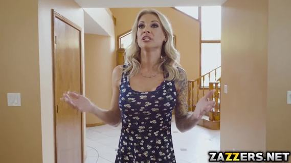 Kyle bangs with her mom's friend Synthia. August is getting rubbed down by the one and only Madison Ivy. Not too long, they were both naked and turned on on each other and started licking each other's pussies while moaning and enjoying everysecond of it