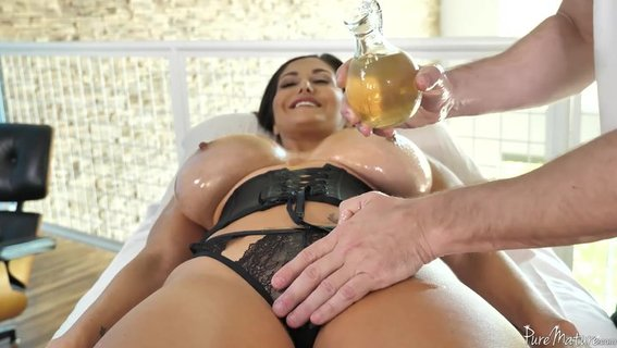 Big-butted Ava Addams is cheating on husband with masseur. Check out Big-butted Ava Addams is cheating on husband with masseur on FRPRN.com