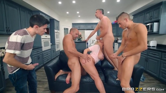 Woman with huge breasts Ryan Conner fucked by bunch of guys. Check out Woman with huge breasts Ryan Conner fucked by bunch of guys on FRPRN.com