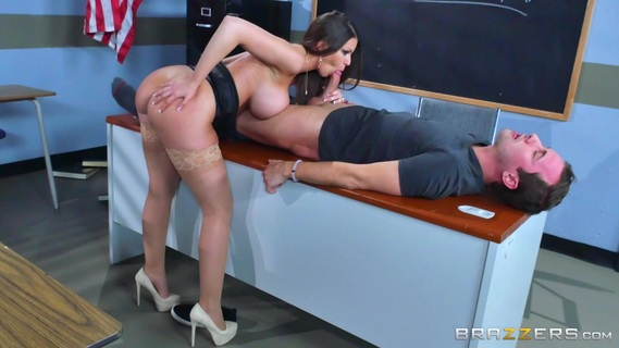 Teacher with huge tits sure wants the cock in her wet cherry. Check out Teacher with huge tits sure wants the cock in her wet cherry on FRPRN.com