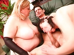 Naughty threesome fucking with two ultra-hot bbw chicks. Check out Naughty threesome fucking with two ultra-hot bbw chicks on FRPRN.com