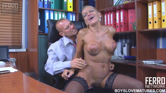 Blonde secretary Hannah gets nailed by her horny boss. Check out Blonde secretary Hannah gets nailed by her horny boss on FRPRN.com