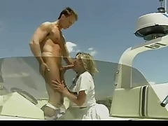 Sexy blonde enjoys raunchy beaver pounding on the yacht. Check out Sexy blonde enjoys raunchy beaver pounding on the yacht on FRPRN.com