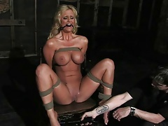 Tied up chick Phoenix Marie in a crazy BDSM fucking. Check out Tied up chick Phoenix Marie in a crazy BDSM fucking on FRPRN.com