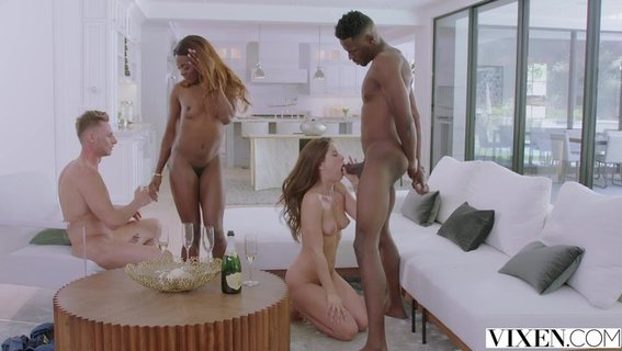 Interracial group sex of Little Caprice and black friend Ana Foxxx. Check out Interracial group sex of Little Caprice and black friend Ana Foxxx on FRPRN.com