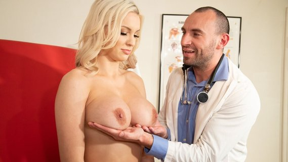Doctor loses control when he sees huge tits of Kenzie Taylor. Check out Doctor loses control when he sees huge tits of Kenzie Taylor on FRPRN.com