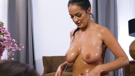 Slutty maid Sofi Ryan pleases young guy with massage and sex. Check out Slutty maid Sofi Ryan pleases young guy with massage and sex on FRPRN.com