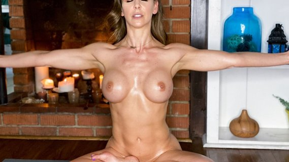 Hot yoga lesson and solo fingering with Cherie Deville. Check out Hot yoga lesson and solo fingering with Cherie Deville on FRPRN.com