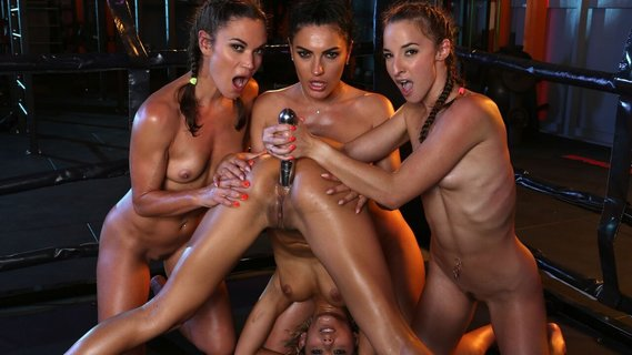 Alyssa Reece and sexy fighters have wild lesbian orgy. Check out Alyssa Reece and sexy fighters have wild lesbian orgy on FRPRN.com