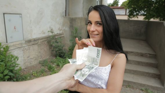 Brunette Lexi Dona proves she isn't shy and gets the money. Check out Brunette Lexi Dona proves she isn't shy and gets the money on FRPRN.com