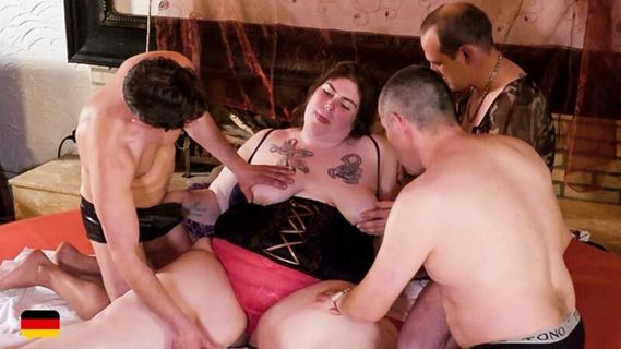 Hot BBW brunette Natascha copulates with four mature partners. Check out Hot BBW brunette Natascha copulates with four mature partners on FRPRN.com