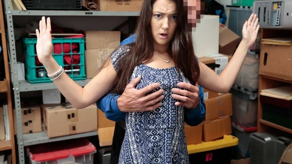 Guilty brunette Lily Adams gets fucked by security guard. Check out Guilty brunette Lily Adams gets fucked by security guard on FRPRN.com