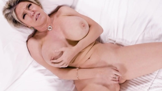 Big-tittied MILF Dee Williams pleases herself with fingers. Check out Big-tittied MILF Dee Williams pleases herself with fingers on FRPRN.com
