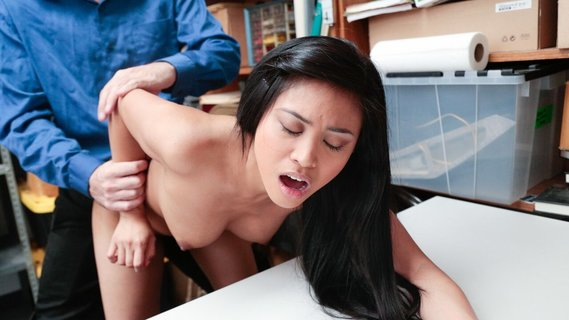 Asian shoplifter Ember Snow has unwanted sex to avoid prison. Check out Asian shoplifter Ember Snow has unwanted sex to avoid prison on FRPRN.com