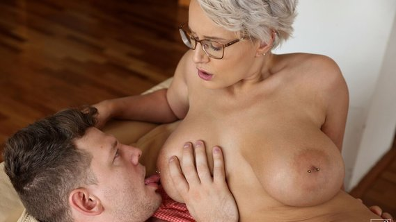 Husband stops watching TV to fuck nerdy blonde Angel Wicky. Check out Husband stops watching TV to fuck nerdy blonde Angel Wicky on FRPRN.com