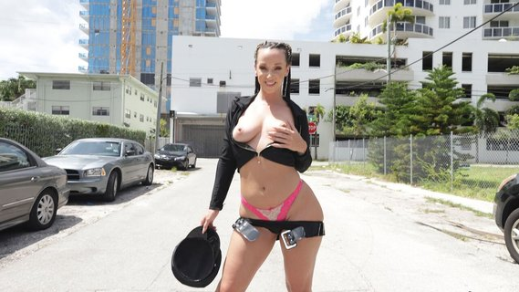 Skinny policewoman Jada Stevens is carnal with offender. Check out Skinny policewoman Jada Stevens is carnal with offender on FRPRN.com