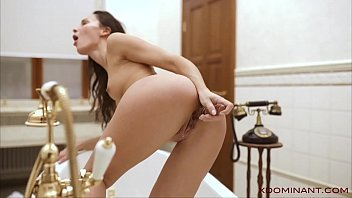 Beautiful brunette sneaks in the bathroom to toy pussy. Check out Beautiful brunette sneaks in the bathroom to toy pussy on FRPRN.com