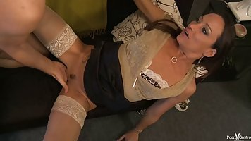 Guy fucks pretty sportswoman Michelle Lay and cums on belly. Check out Guy fucks pretty sportswoman Michelle Lay and cums on belly on FRPRN.com