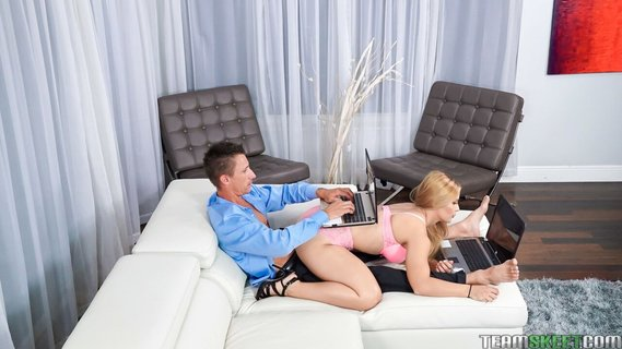 Blonde with thick ass Sloan Harper lures BF into quickie. Check out Blonde with thick ass Sloan Harper lures BF into quickie on FRPRN.com