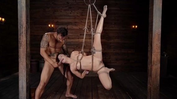 Tied up Asian Mi Ha Doan is carnal with master. Check out Tied up Asian Mi Ha Doan is carnal with master on FRPRN.com