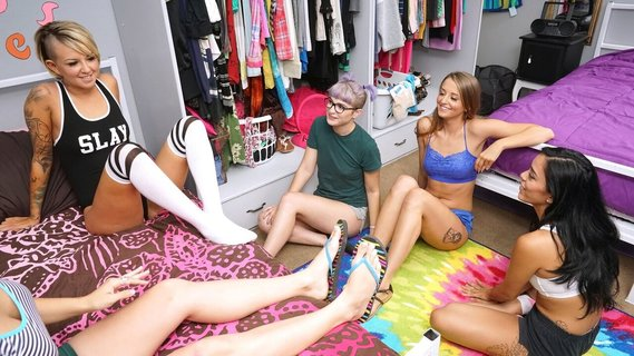 Annika Eve, Pressley Carter, Avery Adair in Slumber Party. Check out Annika Eve, Pressley Carter, Avery Adair in Slumber Party on FRPRN.com