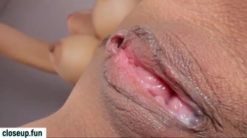 Possessor of nice pink pussy boasts about it in amateur video. Check out Possessor of nice pink pussy boasts about it in amateur video on FRPRN.com