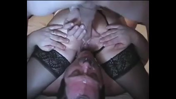 Spineless cuckold makes his cheating wife happy by facesitting. Check out Spineless cuckold makes his cheating wife happy by facesitting on FRPRN.com