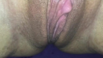 Husband teases his wife's massive clit to make her horny. Check out Husband teases his wife's massive clit to make her horny on FRPRN.com
