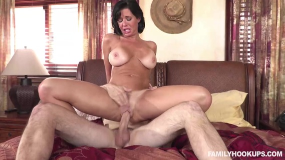 Hot MILF Veronica Avluv with tan lines tests stepson's penis. Check out Hot MILF Veronica Avluv with tan lines tests stepson's penis on FRPRN.com